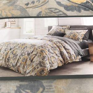 NWT Threshold Full/Queen Jacobean floral duvet set